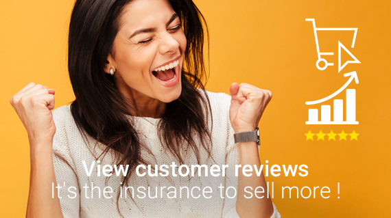 Display customer reviews is a sure way to sell more!