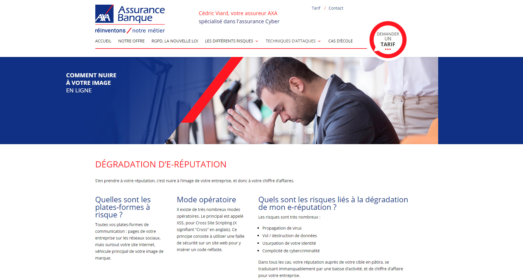 E-reputation Axa