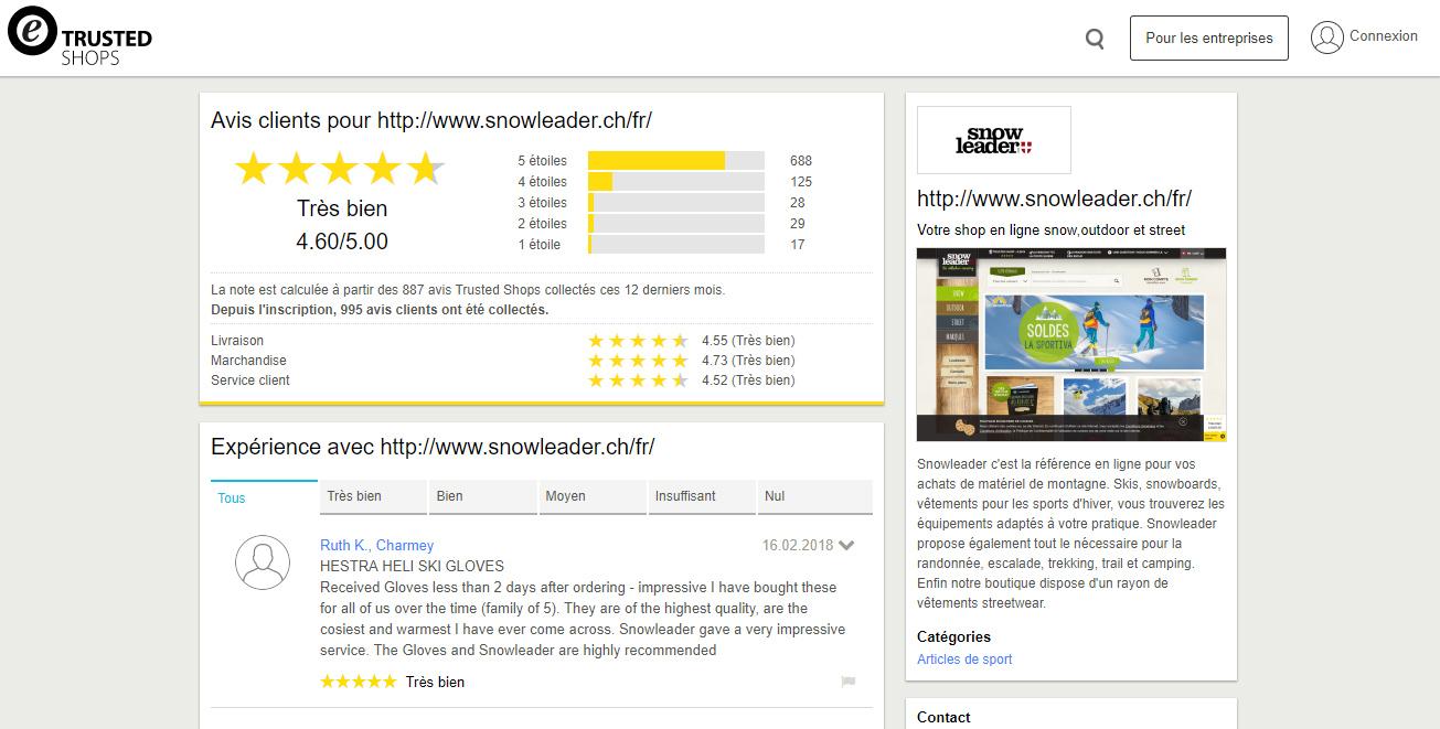 avis client trustedshops