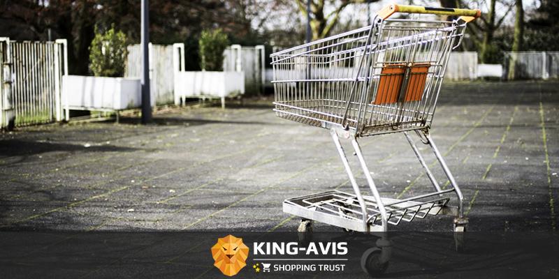 E-commerce chute des ventes