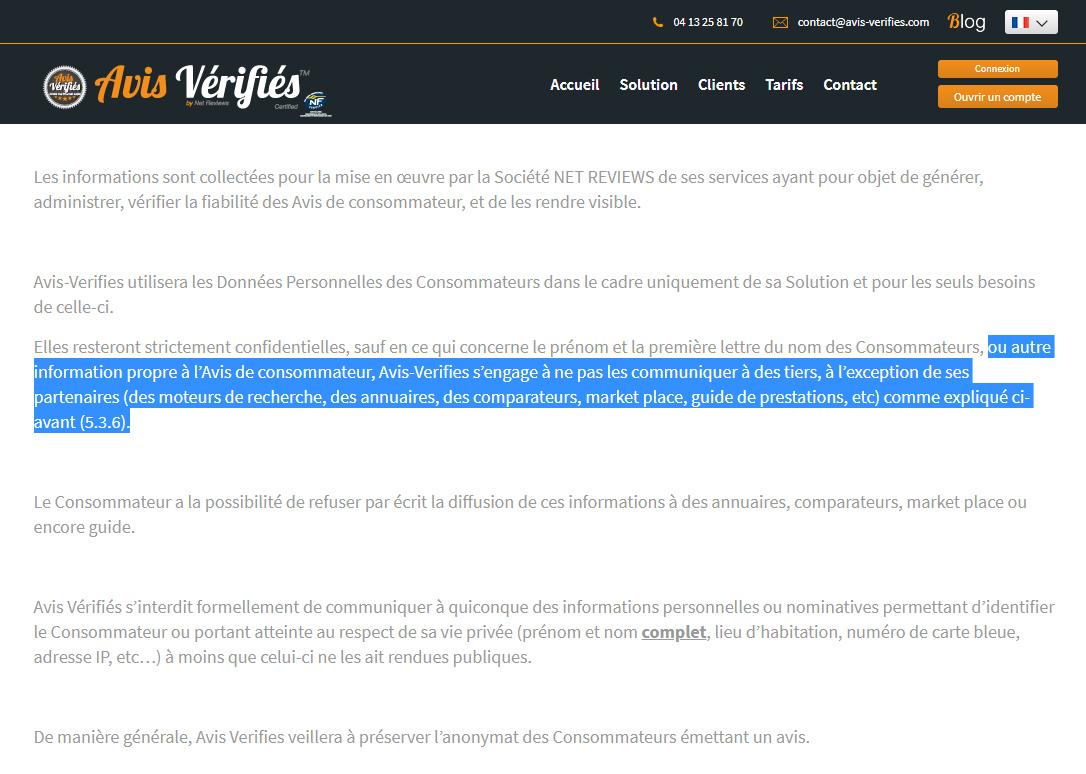 CGV Avis-Vérifiés