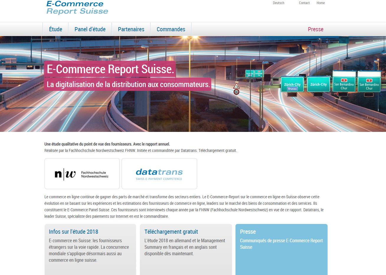 Datatrans rapport e-commerce