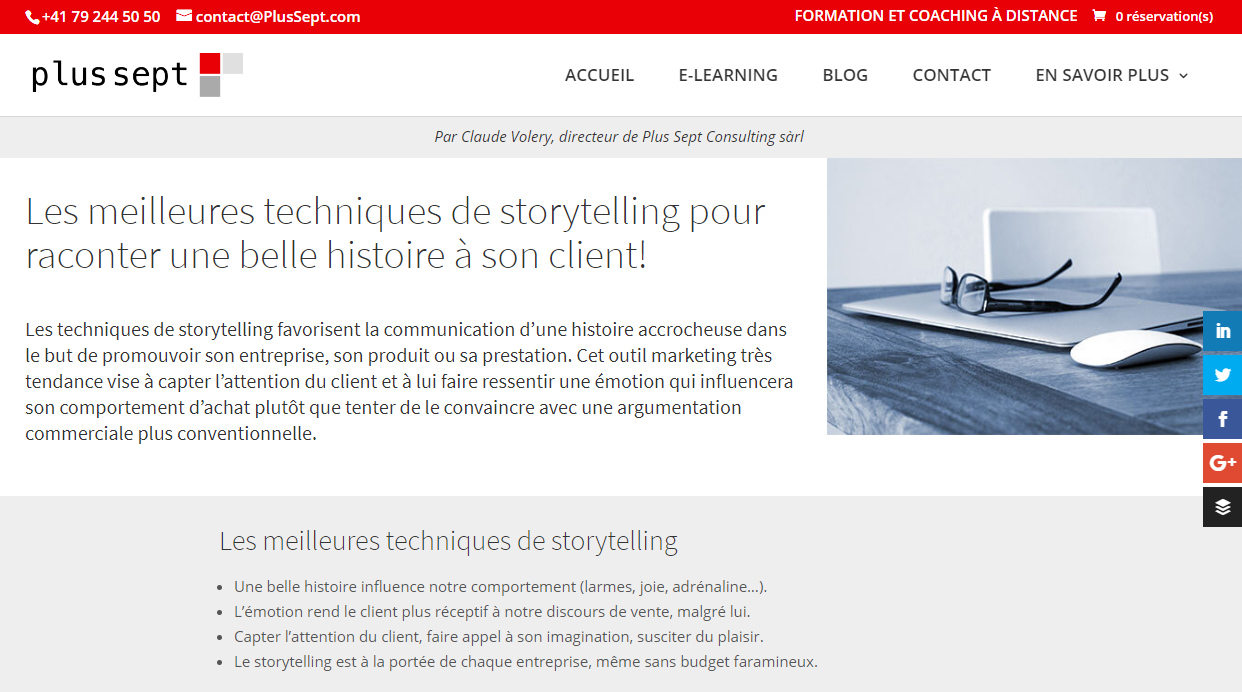 Storytelling avis clients