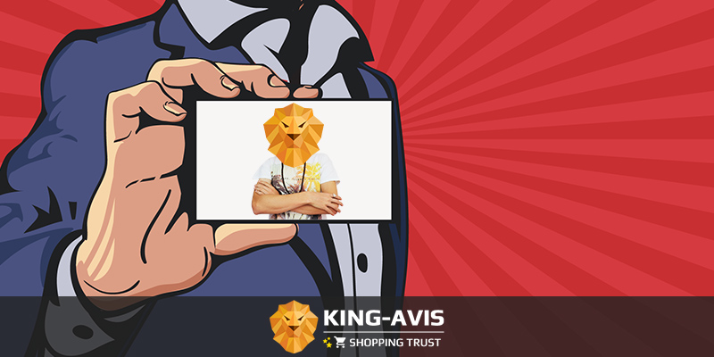 Carte visite King-Avis